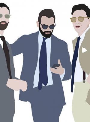 Las ilustraciones de Joselu Montojo en Esquire