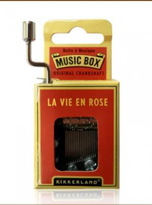 """Music Box """"La vie en rose"""""""