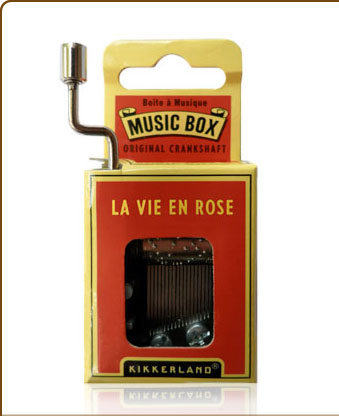 "Music Box ""La vie en rose"""