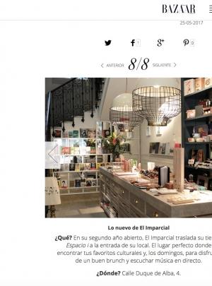 Harper's Bazaar propone al Imparcial como uno de los mejores planes de ocio