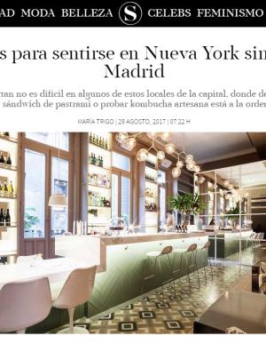 Sentirse en Nueva York sin salir de Madrid