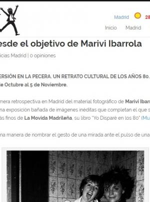 Revista Placet:_ Los 80 desde el objetivo de Mariví Ibarrola