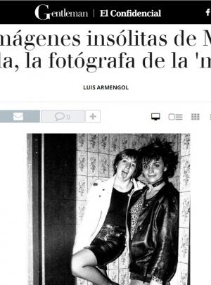 GENTLEMAN.EL CONFIDENCIAL : Las imágenes insólitas de Mariví Ibarrola, la fotógrafa de la 'movida'