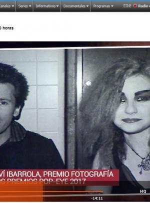 Nuestra exposición de Mariví Ibarrola en La hora cultural