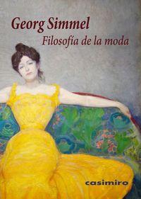 Filosofía del Vestido, Georg Simmel