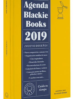 Agenda Blackie Books 2019 – 19,90€