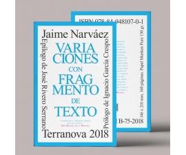Variaciones con fragmento de texto – 12,50€