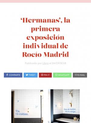 'Hermanas', la exposición de Rocío Madrid por Libra Magazine