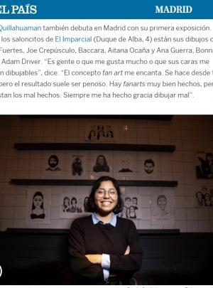 La exposición de Rocío Quillahuaman en El País