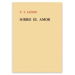 V.I. LENIN, SOBRE EL AMOR – 8,00€