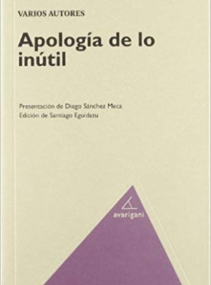 APOLOGÍA DE LO INÚTIL 15€