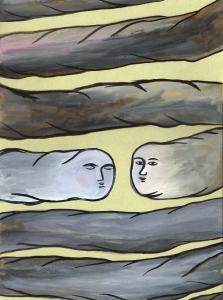 No Correspondido - Javier Lozano - 31x23cm acuarela sobre papel