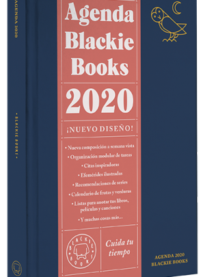 AGENDA BLACKIE BOOKS 19,90€